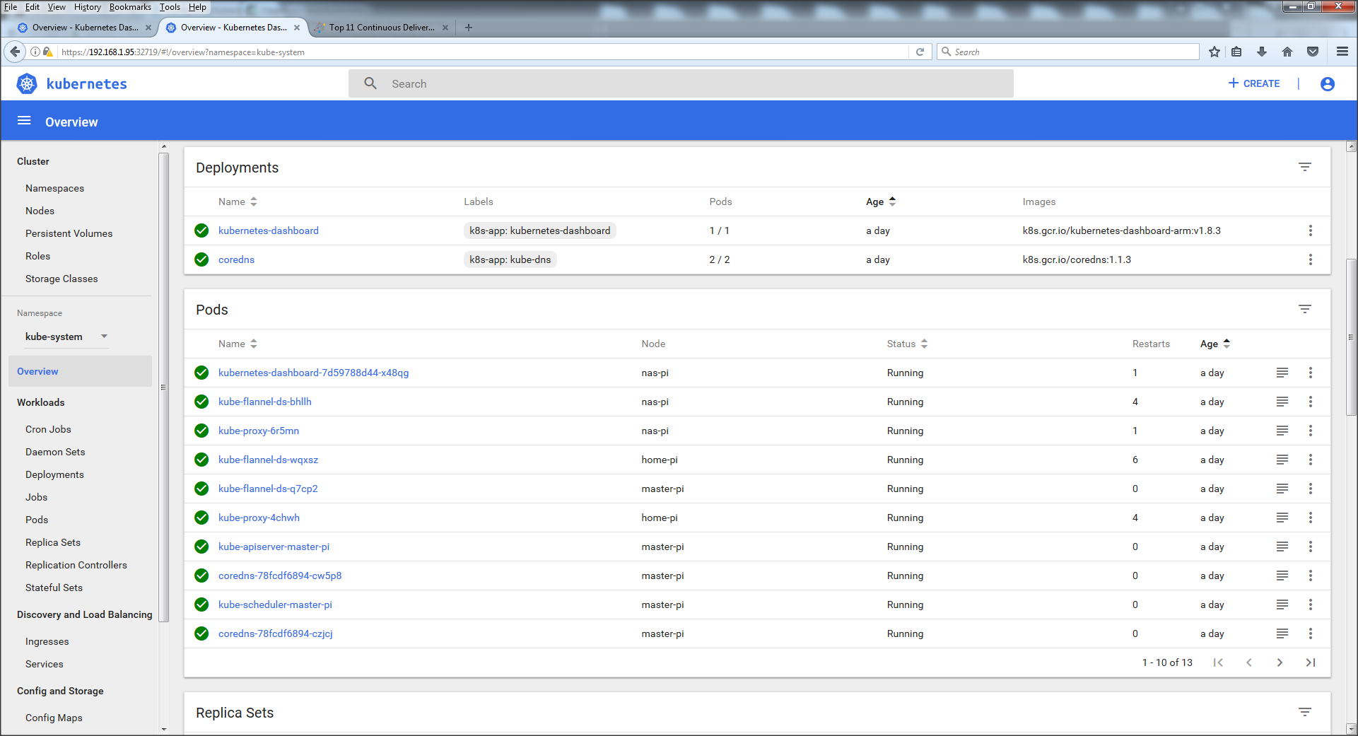 Installing Kubernetes Dashboard :: KUBEDGE's Blog